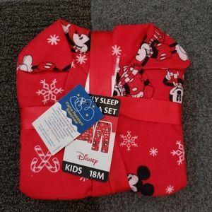 DISNEY Mickey Mouse Christmas pajama set 18M